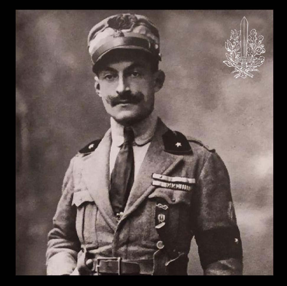 Maggiore Luigi Freguglia - XXVII° Reparto d'Assalto
